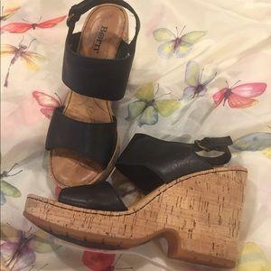 Born cork heels